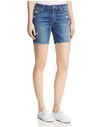 Joe's Jeans - The Finn Bermuda Denim Shorts In Karinne - Lyst