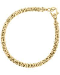Lagos - Caviar Gold Collection 18k Gold Bracelet - Lyst