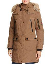 Pendleton - Jackson Fur Trim Down Coat - Lyst