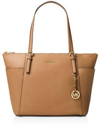 MICHAEL Michael Kors - Jet Set Large Top Zip Tote - Lyst