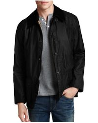 Barbour - Ashby Tailored Waxed Cotton Coat - Lyst