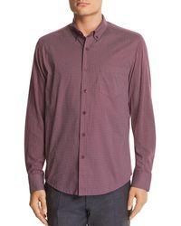 W.r.k. - Reworked Dot-print Slim Fit Button-down Shirt - Lyst