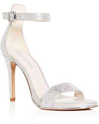 Kenneth Cole - Women's Brooke Shine Embellished Ankle Strap High-heel Sandals - Lyst