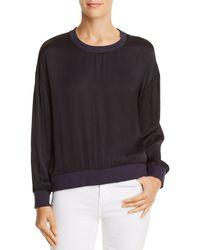 Nation Ltd - Shay Drop-shoulder Sweatshirt - Lyst