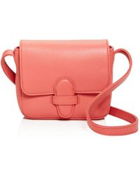 Olivia Clergue - Gisela Mini Leather Shoulder Bag - Lyst