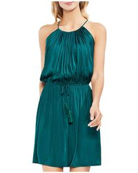 Vince Camuto - Sleeveless Drawstring Dress - Lyst