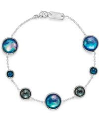 Ippolita - London Blue Topaz & Hematite Bracelet In Eclipse - Lyst