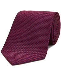 Turnbull & Asser - Houndstooth Classic Tie - Lyst