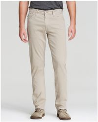 AG Jeans - Graduate New Tapered Fit Twill Pants - Lyst