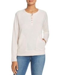 Kenneth Cole - Snap Henley Pullover - Lyst