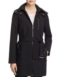 Calvin Klein - Belted Trench Coat - Lyst