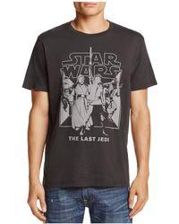 Junk Food - Last Jedi Crewneck Short Sleeve Tee - Lyst