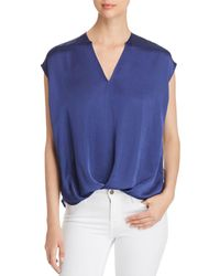 Kenneth Cole - V-neck High/low Top - Lyst
