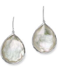 Ippolita - Sterling Silver Wonderland Teardrop In Mother-of-pearl Earrings - Lyst