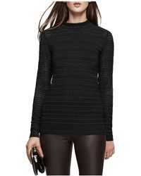 Reiss   Tullulah Lace Top   Lyst