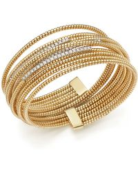 Bloomingdale's - Diamond Multi Coil Bracelet - Lyst