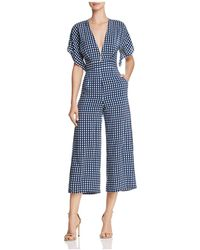 Faithfull The Brand - Cedric Checkered Jumpsuit - Lyst