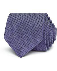 John Varvatos - Textured Solid Classic Tie - Lyst