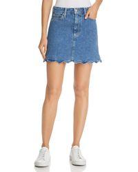 Joe's Jeans - Bella Denim Skirt In Kenzy - Lyst