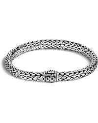 John Hardy - Classic Chain Sterling Silver Medium Bracelet - Lyst