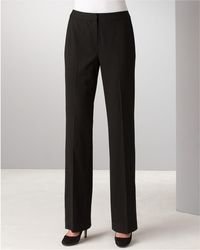 Lafayette 148 New York | Italian Stretch Wool Menswear Pants | Lyst