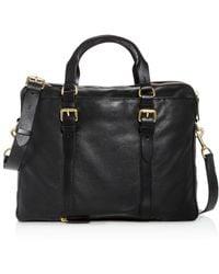 Cole Haan - Matthews Leather Briefcase - Lyst