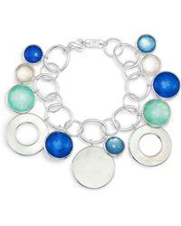 Ippolita - Sterling Silver Wonderland Mother-of-pearl Doublet Charm Bracelet - Lyst