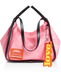 Marc Jacobs - Sport Nylon And Leather Tote - Lyst