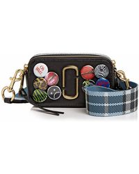 Marc Jacobs - Badge Snapshot Leather Camera Bag - Lyst