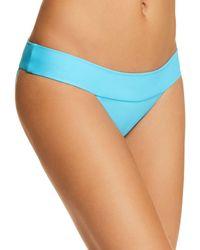 Pilyq - Banded Full Bikini Bottom - Lyst