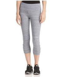 Marc New York - Performance Space-dyed Cropped Leggings - Lyst