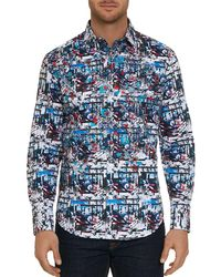 Robert Graham - Larson Abstract-print Classic Fit Shirt - Lyst