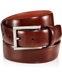 Trafalgar - Marco Leather Belt - Lyst