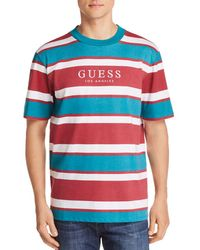 Guess - Peer Striped Tee - Lyst