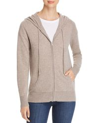 C By Bloomingdale's - Cashmere Hoodie - Lyst