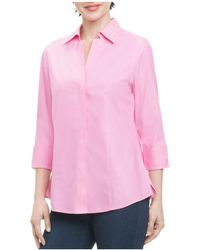 Foxcroft - Button-down Top - Lyst