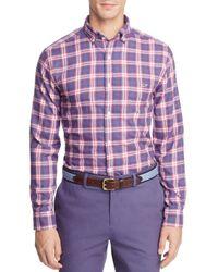 Vineyard Vines - Silver Creek Plaid Button-down Shirt - Lyst