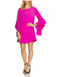 Cece by Cynthia Steffe - Ashley Bell-sleeve Dress - Lyst