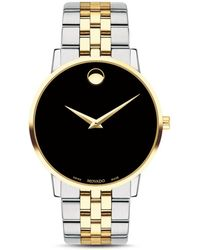 Movado Museum Classic Two - Tone Watch