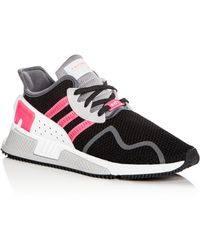 reputable site 1a555 fb186 adidas - Mens Equipment Cushion Advantage Knit Lace Up Trainers - Lyst