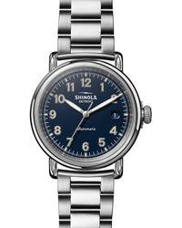 Shinola - Runwell Automatic Bracelet Watch - Lyst