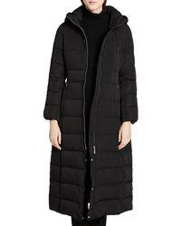 Calvin Klein - Hooded Maxi Down Coat - Lyst
