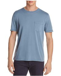 Billy Reid - Washed Cotton Pocket Tee - Lyst