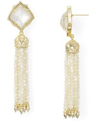 Kendra Scott - Misha Drop Earrings - Lyst