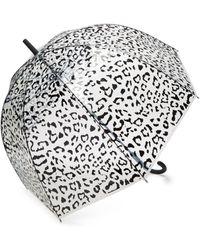 HUNTER - Leopard Print Bubble Umbrella - Lyst