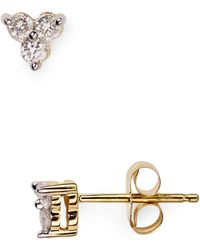 Adina Reyter - Diamond Cluster Stud Earrings - Lyst