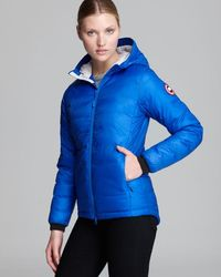 Canada Goose' Camp Hooded Jacket - Women's - M - Pacific Blue