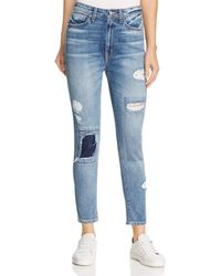 10 Crosby Derek Lam - Tali High-rise Authentic Skinny Jeans In Medium Wash - Lyst