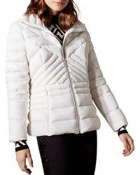 Karen Millen - Packable Down Puffer Jacket - Lyst