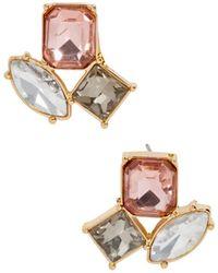 BaubleBar - Emalia Stud Earrings - Lyst